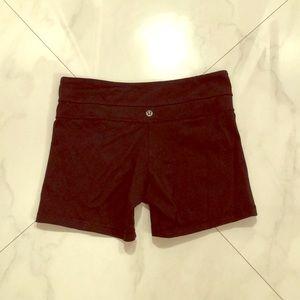 EUC Lululemon Reversible Shorts